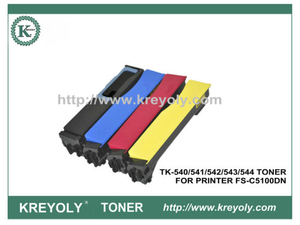 TK-540/541/542/543/544 Cartucho de tóner de color para Kyocera PRINTER FS-C5100DN