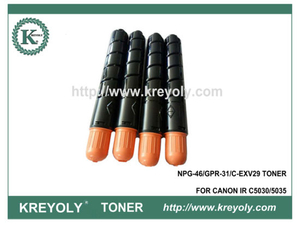 Cartucho de tóner a color compatible GPR-31 / NPG-46 / C-EXV 29