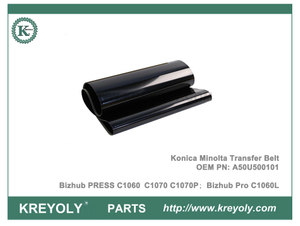A50U500101 Konica Transfer Belt para Bizhub PRESS C1060 C1070 C1070P C1060L