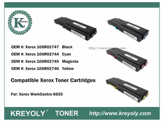 Cartucho de tóner compatible Xerox WorkCentre 6655