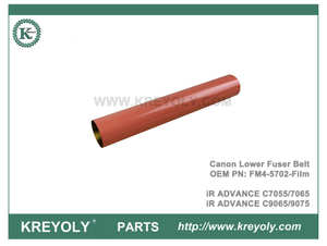 Cinturón de fusor inferior FM4-5702-Film compatible para Canon IR Advance C7055 7065 9065 9075